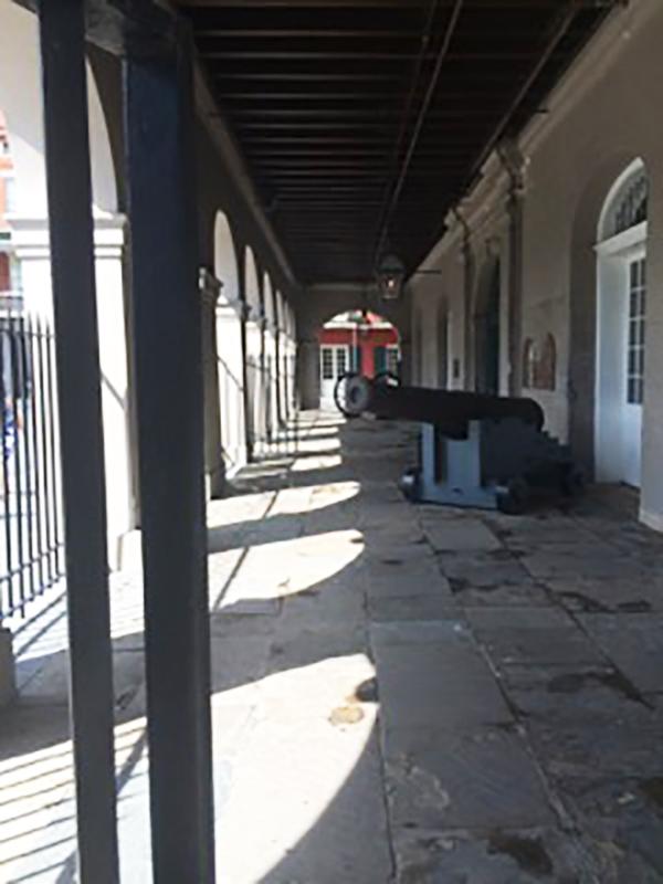 Pic-Cabildo cannon